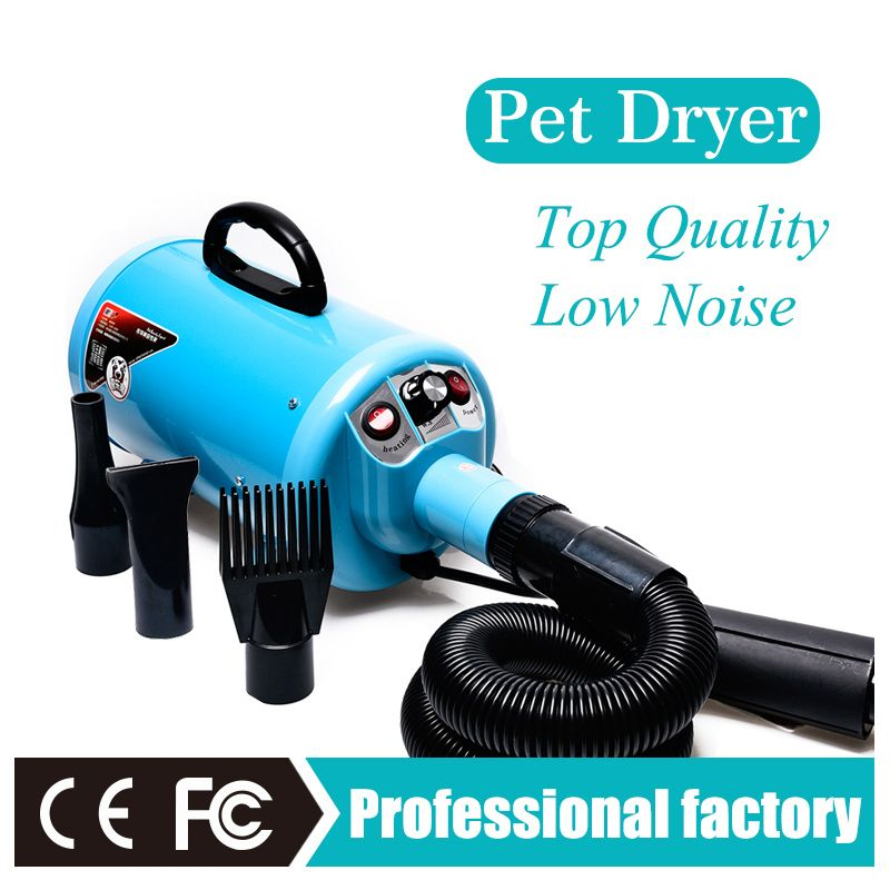 Powerful pet dryer dog hair blaster cheap pet grooming machine Adjustable speed and temperature 220V/110V EU AU US plug CE