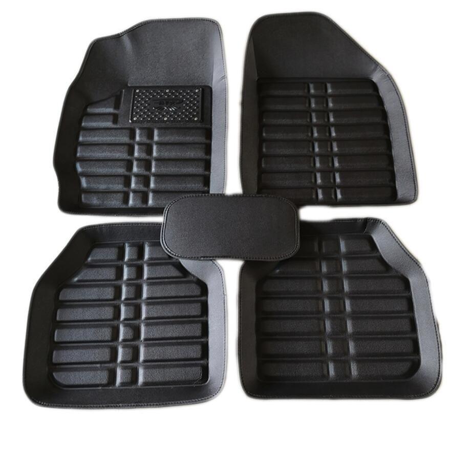 Universal auto boden matte Für Renault Clio Megane Captur Scenic Laguna Twingo Fluence Koleos auto matten