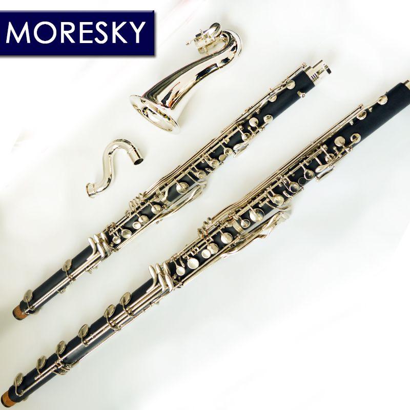 MORESKY Bass Clarinet Professional Clarinet Lowc / LOWE Drop B Tuning bB