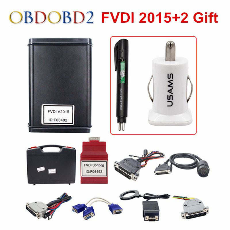 Original FVDI Full Version (Including 18 Software) FVDI ABRITES ABRITES Commander Without Limited FVDI V2014 / V2015 DHL Free