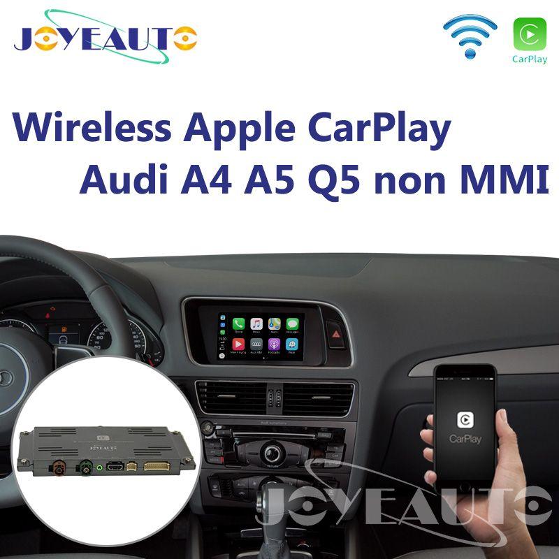 Joyeauto Wifi Drahtlose Apple CarPlay Auto Spielen Android Auto Spiegel A4 A5 Q5 Nicht MMI OEM Retrofit Touchscreen für Audi mit iOS 13