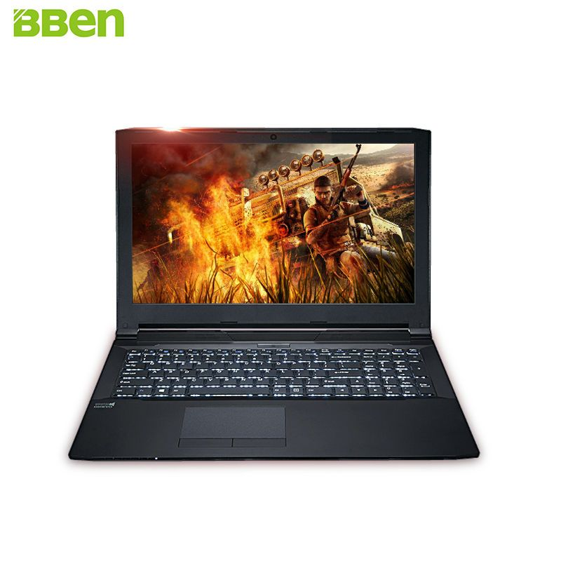 BBen G156M Laptop Gaming Computer Intel i5 6300HQ NVIDIA GeForce 940MX 16G RAM 256G SSD HDD Optional 15.6'' IPS Activated Win10