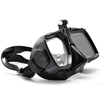 Pour GoPro Accessoires Go Pro Hero3/3 +/4 5 6 SJCAM SJ4000/5000/6000 Pour Xiao yi Lunettes De Natation Plongée Masque Action Mount