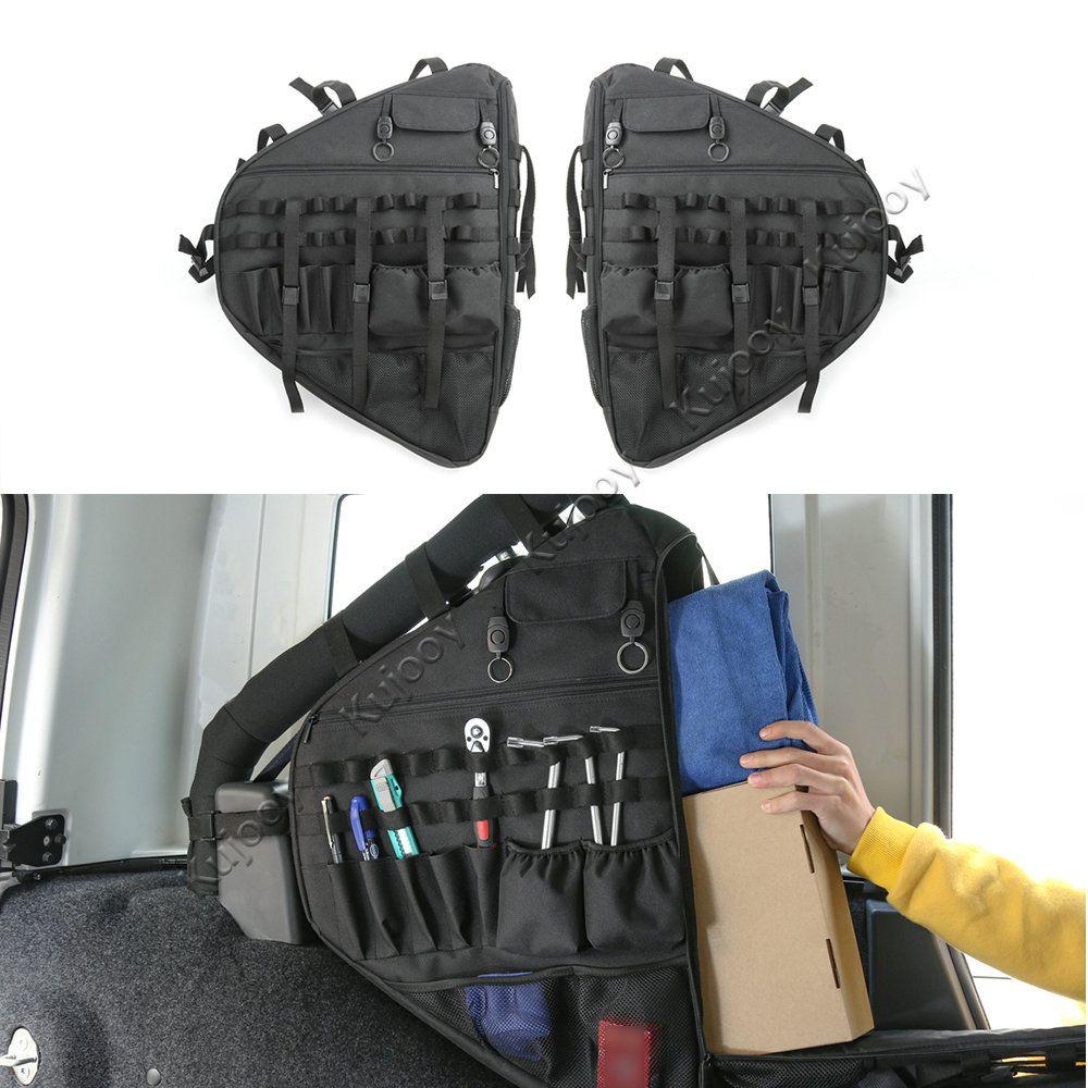 Roll Bar Lagerung Tasche Fracht für 2018 Jeep Wrangler JL 4-Tür mit Multi-Taschen & Organisatoren & cargo Tasche Sattel Werkzeug Halter