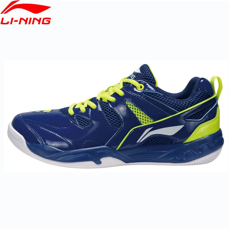 Li-Ning Hommes Badminton Chaussures Portable Doublure Respirant Sport Chaussures Coussin Confort Sneakers AYTM069 XYY065