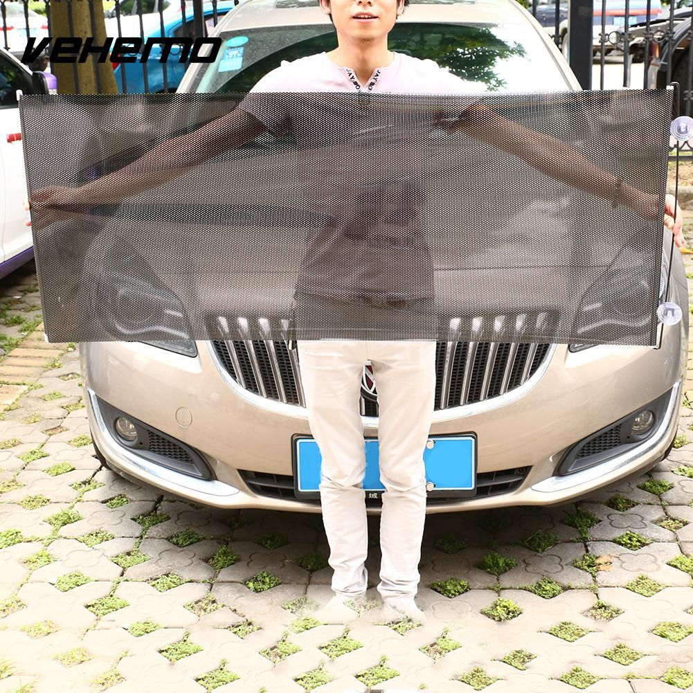 135 x 58cm Retractable Anti UV Sun Shade Windshield Protect Cover Auto Window Car Windshield Visor Sun Shade