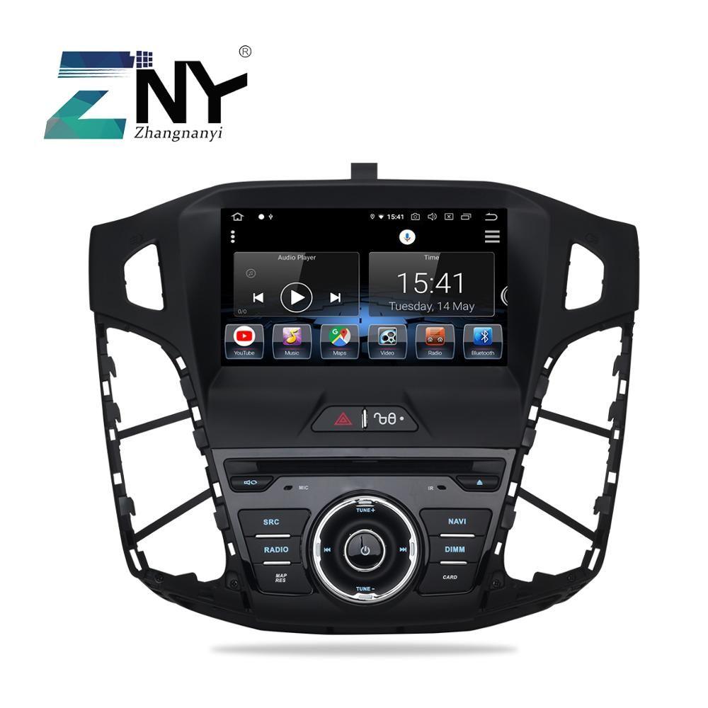 Android 9.0 Auto DVD Auto Radio Für Fokus 2011-2017 GPS Navigation FM RDS WIFI Multimedia Audio Video Stereo 4 + 32GB Geschenk Kamera