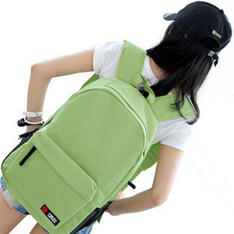 Alt 2 Neue Casual Blätter Druck Muster Weibliche Schulter Zurück Tasche Mode Klassische Frauen Laptop Rucksack Mädchen Schul