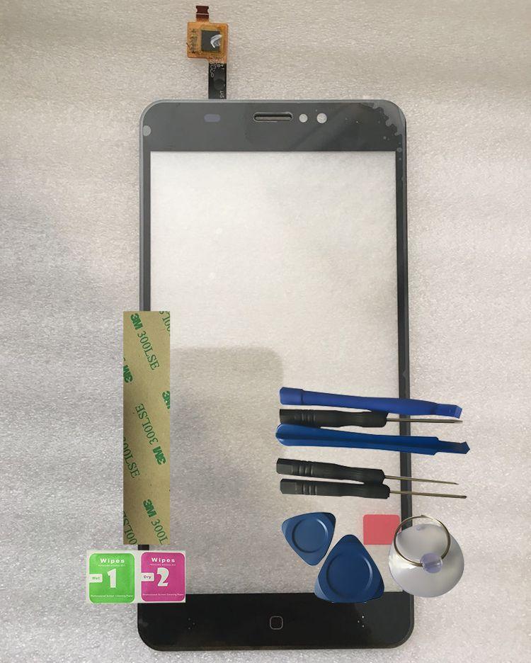 Touchscreen Sensor For BQ Mobile BQ-5525 Practic BQ 5525 Touch Screen Digitizer Front Glass Panel Replacement +Tools BQ5525 BQS