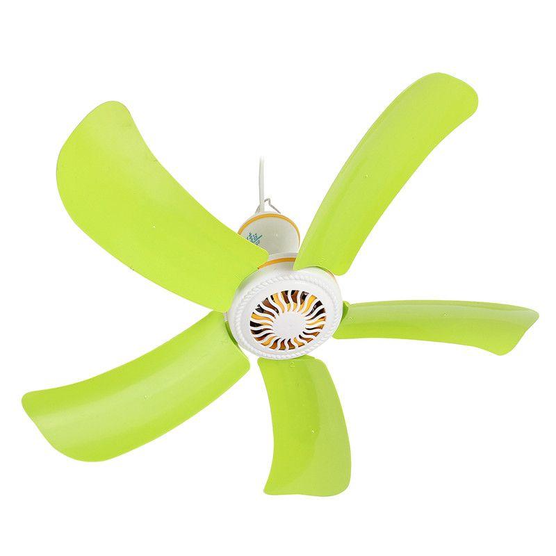 5 lames Super silencieux ventilateur suspendu 220 V ménage muet Mini ventilateur de plafond 8 W économie d'énergie ventilateur lit