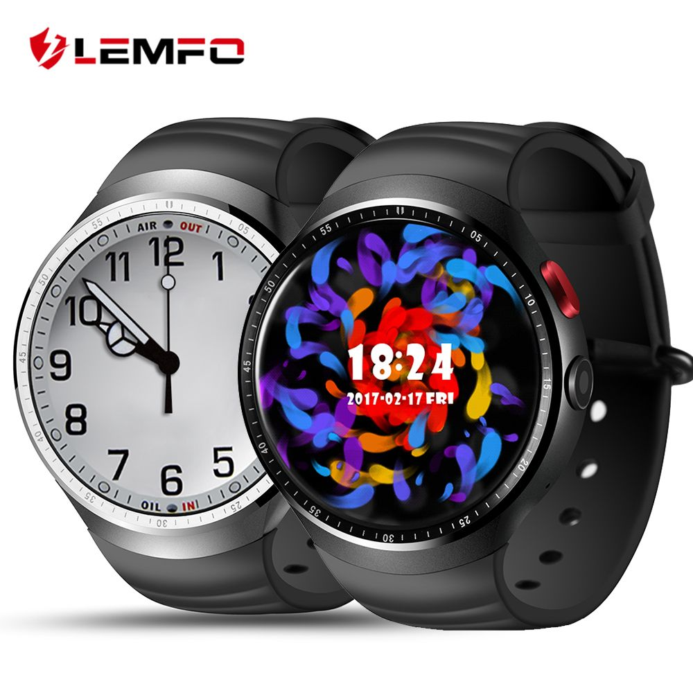 LEMFO LES1 Smart Watch Phone Android 5.1 1GB + 16GB Bluetooth Smartwatch for IOS Android Smartphone