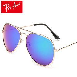 Pro Acmé Classique Aviation lunettes de Soleil Hommes lunettes de Soleil Femmes Conduite Miroir Mâle lunettes de Soleil Points Pilote Oculos de sol CC0744