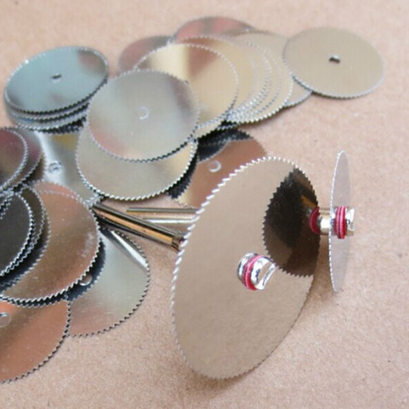 5PCS 32mm Wood Cutting Disc Electric Rotary Tool Circular Saw Blade Dremel Cutting Tools For Woodworking Tool Dremel Accessories