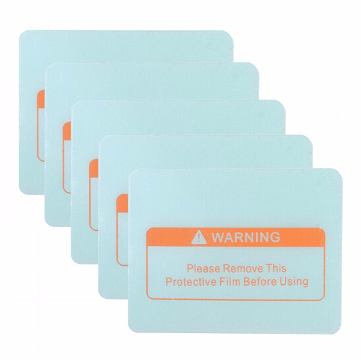 5 Stücke Auto Verdunkelung Schweißhelm Maske Objektivabdeckung Schutzfolie Schutz PVC