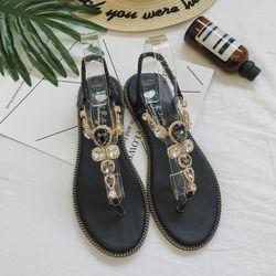 Moxxy mujeres Slides plataforma 2018 zapatillas de moda sandalias verano Bling Beach Slides Flip Flops cómodos zapatos planos Chaussure