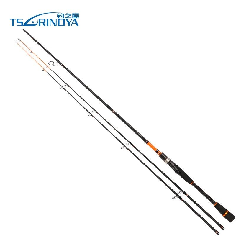 Trulinoya JOY TOGETHER 2.1m/2.4m 2 Tips(M/ML) 2 Sec Carbon Fiber Spinning Fishing Rod Peche Carp Fishing Pole Vara De Pescar