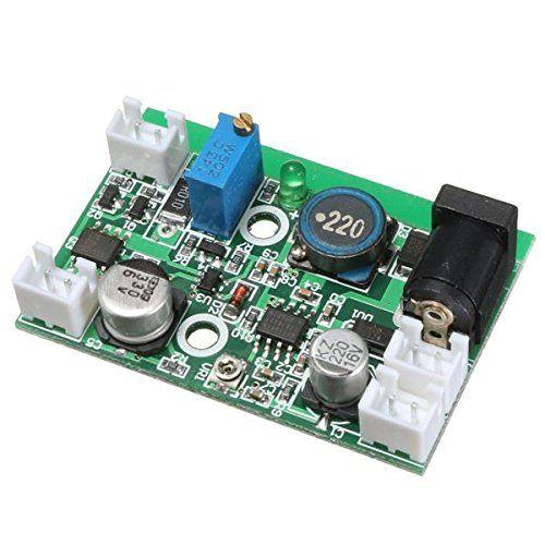 2 W 405nm 445nm 450nm diodo láser LD conductor 12 V step-Down corriente constante circuito de impulsión de modulación TTL alimentación