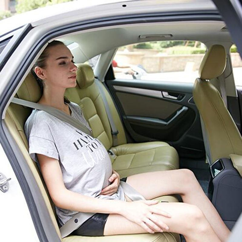 Car Pregnant Safety Protection Seat Belts Women Care Belly Belt Drive Maternity Safety Seatbelt with Leather Safety Lock