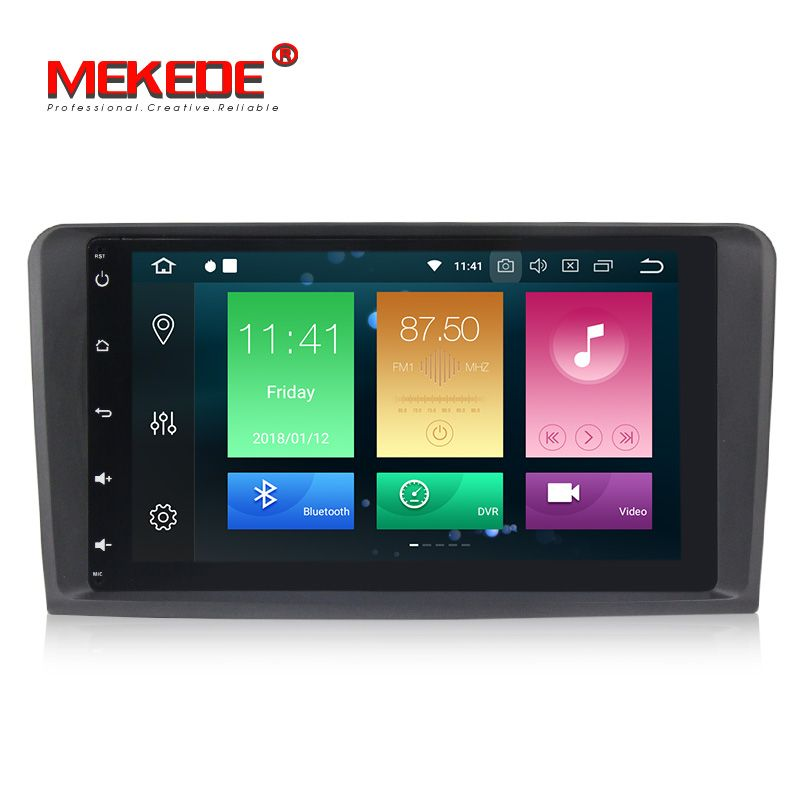 PX5 Android 8.0 8core Car DVD GPS Player For Benz ML W164 W300 ML350 ML450 ML500 GL X164 G320 GL350 GL450 GL500 4G RAOM 32G ROM