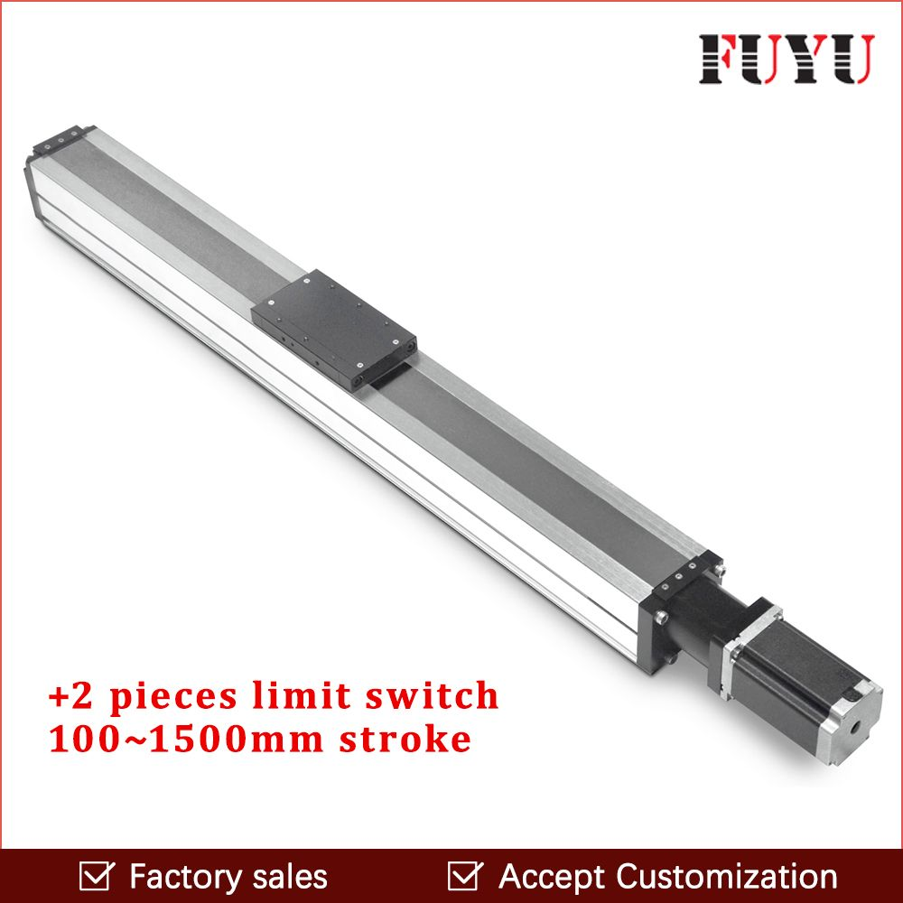 ball screw cnc linear guide rail motion stage slide actuator module nema 24 stepper robotic arm kit rod for router movement