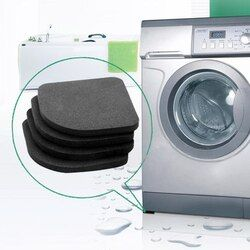4pcs/set  Multifunctional Refrigerator Anti-vibration Pad Washing Machine Shock Pads Non-slip Mats Home Practical Supplies