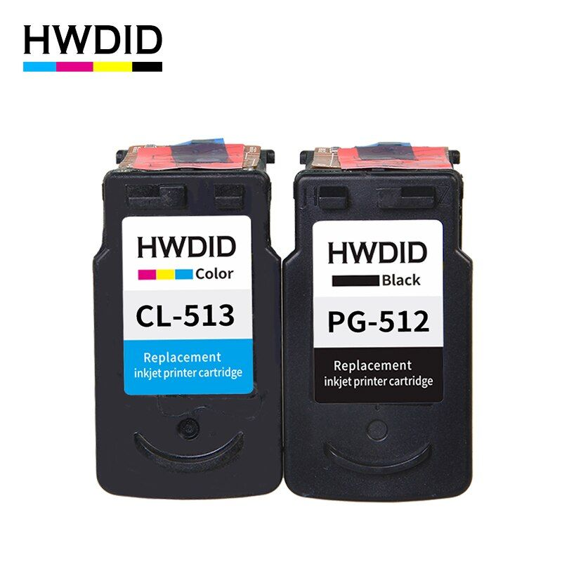 2Pack PG 512 pg512 CL 513 ink cartridge for Canon PG-512 CL-513 used for Canon MP240 MP250 MP270 MP230 MP480 MX350 IP2700