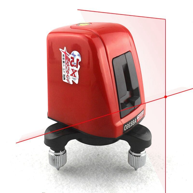 AcuAngle A8826D Laser Level 2 Red Lines with 1 Point 360 degree Rotation Self- leveling Cross Laser Levels