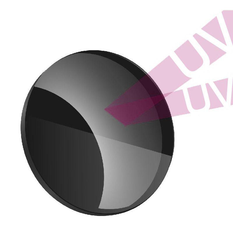 Lentilles optiques polarisées de Prescription de 1.499 CR-39 pour conduire la pêche UV400 lentille polarisée anti-éblouissante