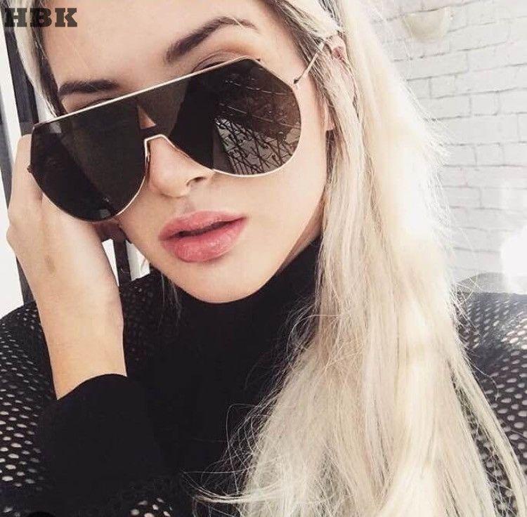 2017 Nouvelle Mode Lunettes De Soleil De Luxe Marque Designer Femmes Miroir lunettes de Soleil Vintage Hommes Femmes UV400 Shades Lunettes Lunettes