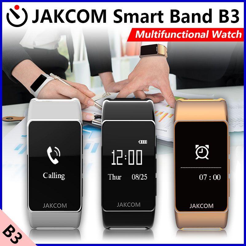 Jakcom B3 montre intelligente pour Apple Android Support de téléphone amovible pour être un écouteur Bluetooth Reloj Inteligente Smartwatch
