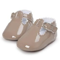 11 Color Fashion Baby Girls Baby Shoes Cute Newborn First Walker Shoes Infant Letter Princess Soft Sole Bottom Anti-slip Shoes