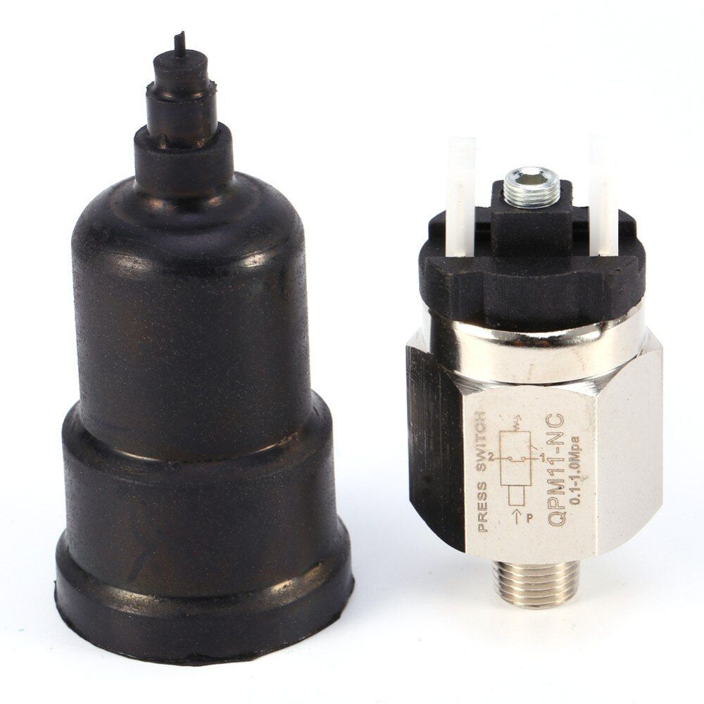 1/4'' Swtich Adjustable QPM11-NC / QPM11-NO Pressure Switch Wire External Thread Nozzle
