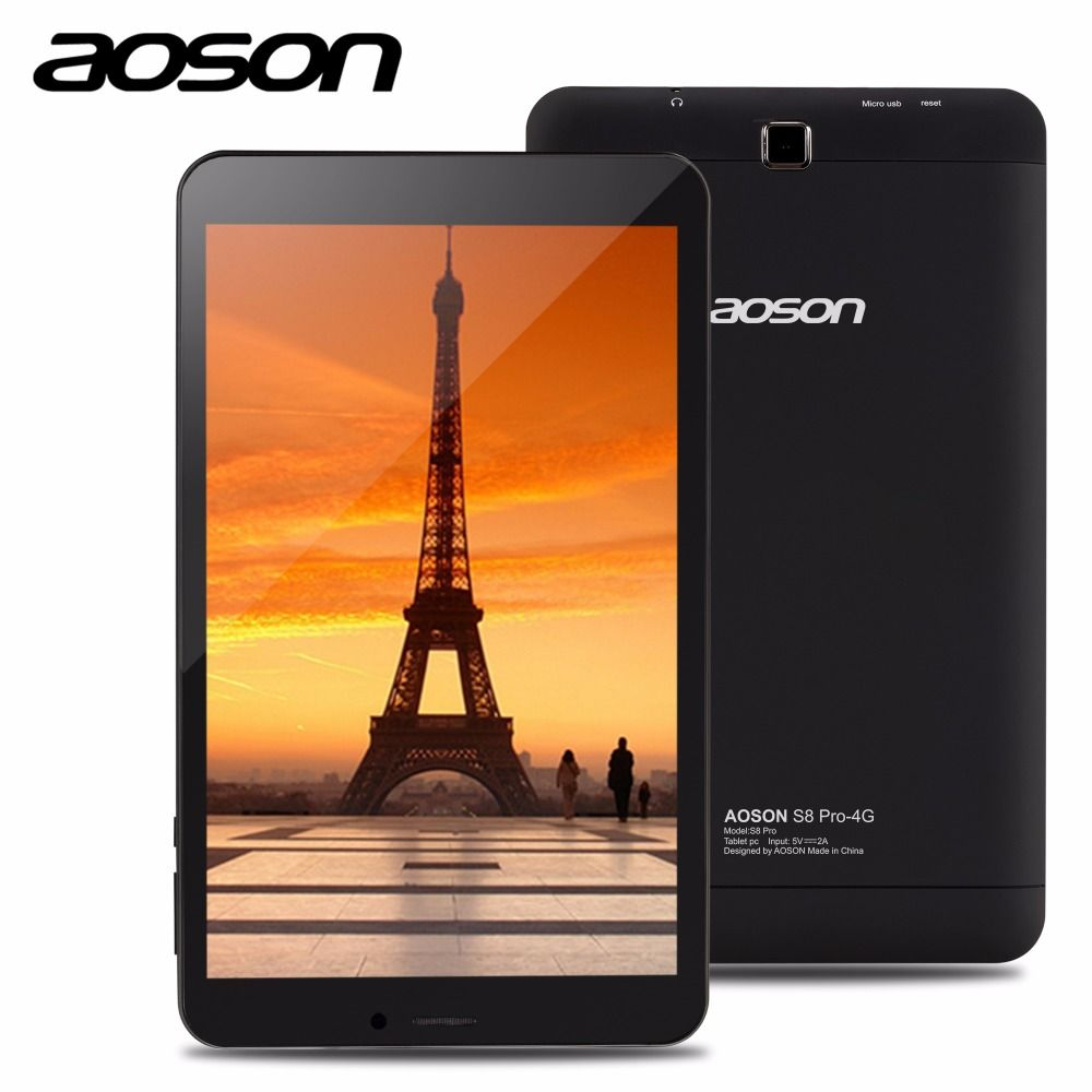 Brand Aoson S8 Pro 8 inch 4G Phone Call Tablet HD IPS 800*1280 Android 6.0 16GB ROM 1GB RAM SIM GPS WIFI tablet accessories