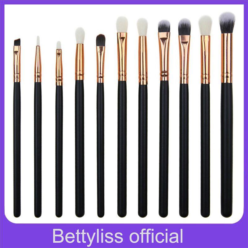 Bettyliss 12pcs Eyeshadow Makeup Brushes Set Pro pinceaux maquillage eyebrow brush Blending Make Up Brushes Soft Synthetic Hair