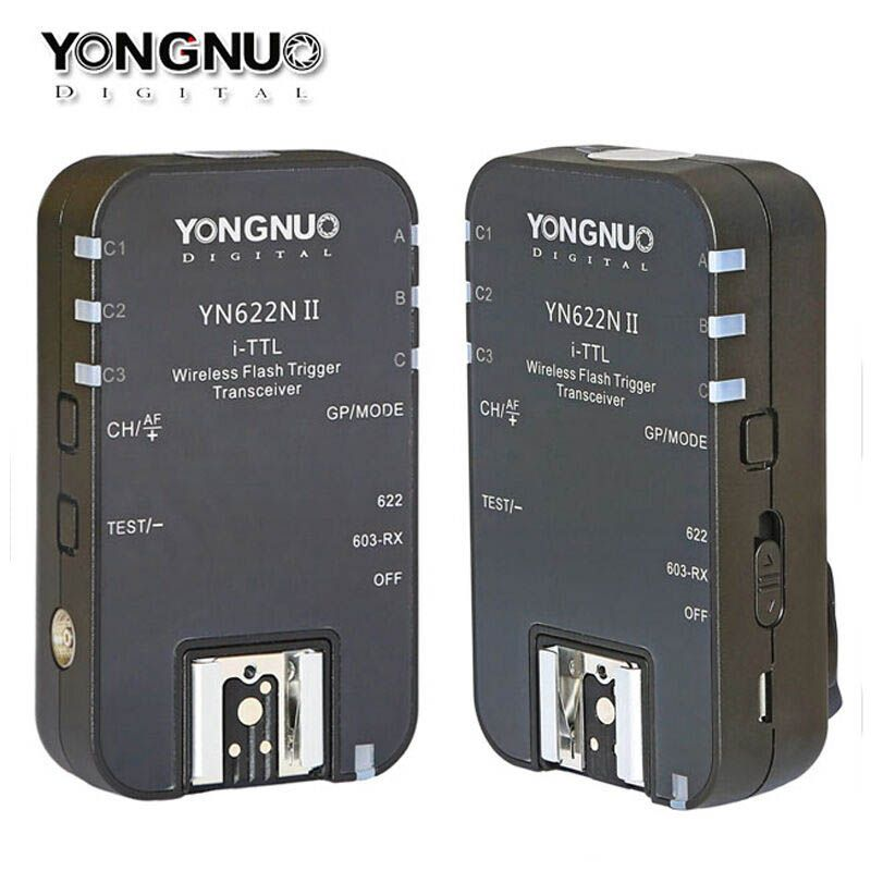 YONGNUO YN622N II Wireless i-TTL HSS Flash Trigger Transceiver for Nikon Camera Support YN560IV YN685 YN565EX YN568EX YN622NII