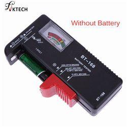 Universel BT168 Numérique Testeur de Batterie Volt Checker pour AA AAA 9 V Bouton Multi Taille Batterie Testeur Tension Mètre Outils