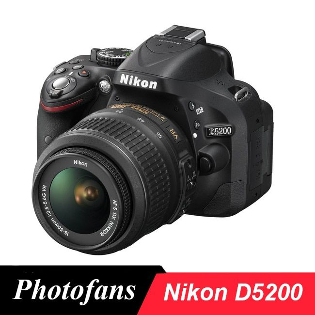 Nikon D5200 DSLR Camera -24.1MP -1080i Video -3.0 Vari-Angle LCD