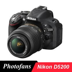 Nikon D5200 DSLR Camera -24.1MP -1080i Video -3.0