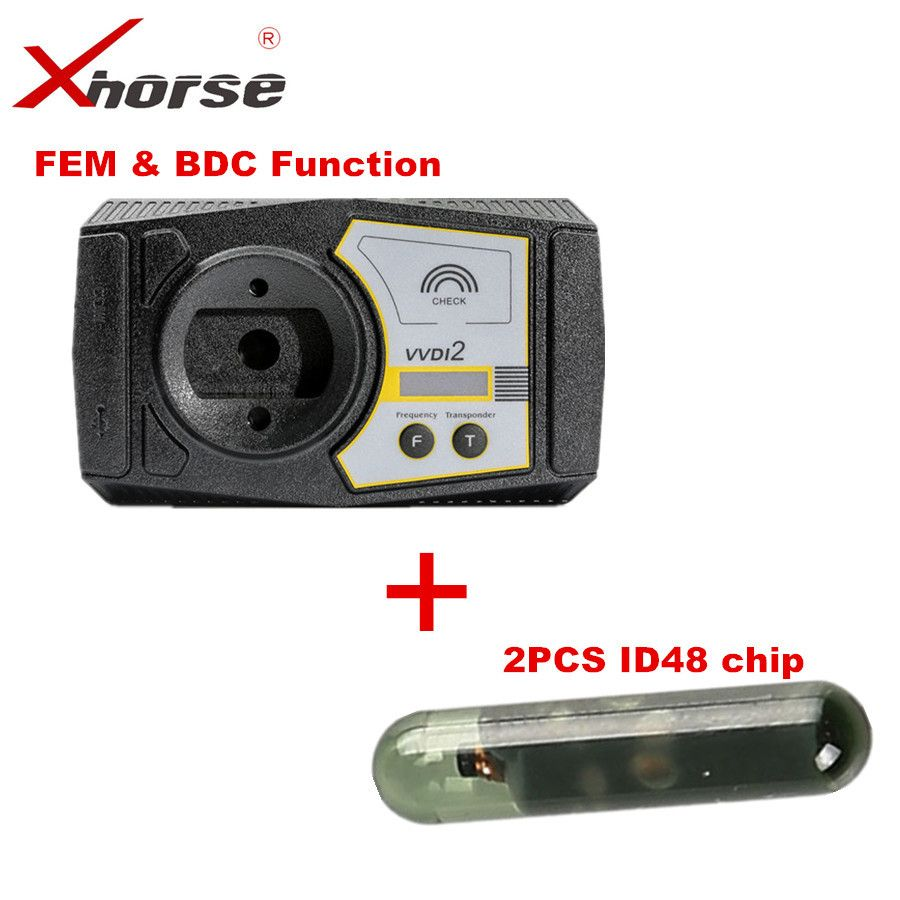 VVDI2 For BMW FEM & BDC Functions Authorization Service For The Buyer Without Ikeycutter Condor Plus 2PCS ID48 Chip