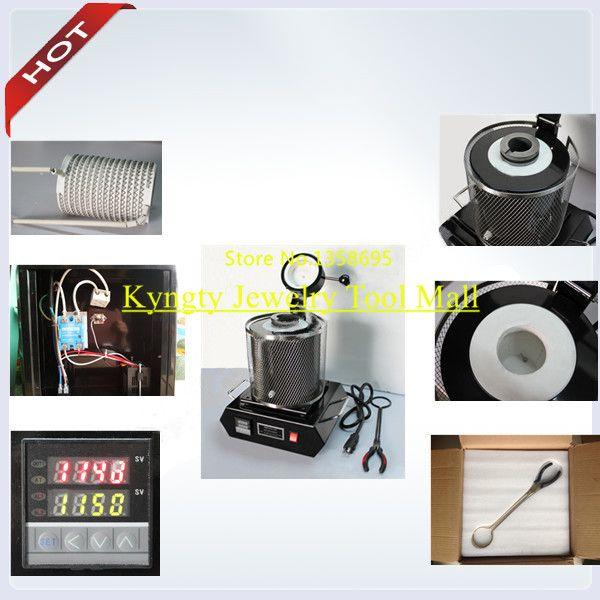 Hot Mini melting furnace electric furnace jewelry casting machine silver copper aluminum melting furnace