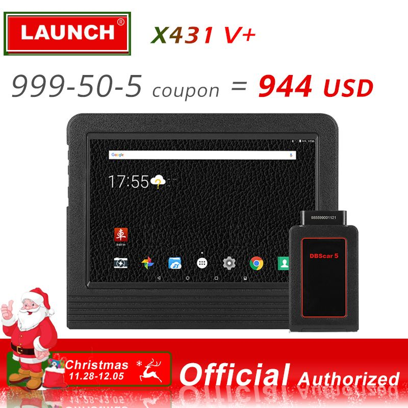 Launch X431 V + Automotive Diagnostic Tool Full System Diagnostics Scan Tools Car Scanner Autoscanner ECU Coding X 431 V Plus