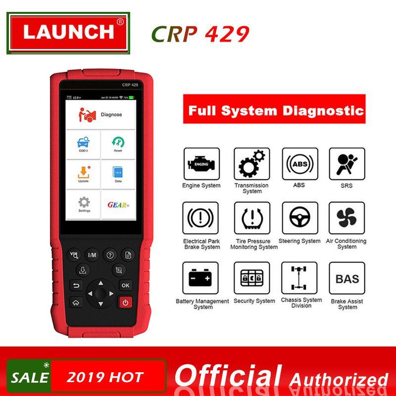 STARTEN X431 CRP429 OBD2 Diagnosescan-werkzeug OBD2 Scanner Alle System Diagnosen Öl Reset EPB BMS SAS DPF Injektor Codierung IMMO