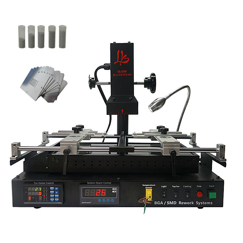 LY IR8500 infrared BGA Rework Station for laptop reparing heating size IR8500 bigger heating size than IR6500