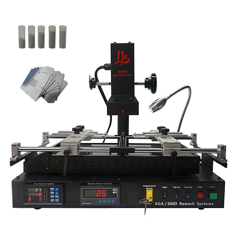 LY IR8500 infrarot BGA Rework Station für laptop reparing heizung größe IR8500 größere heizung größe als IR6500