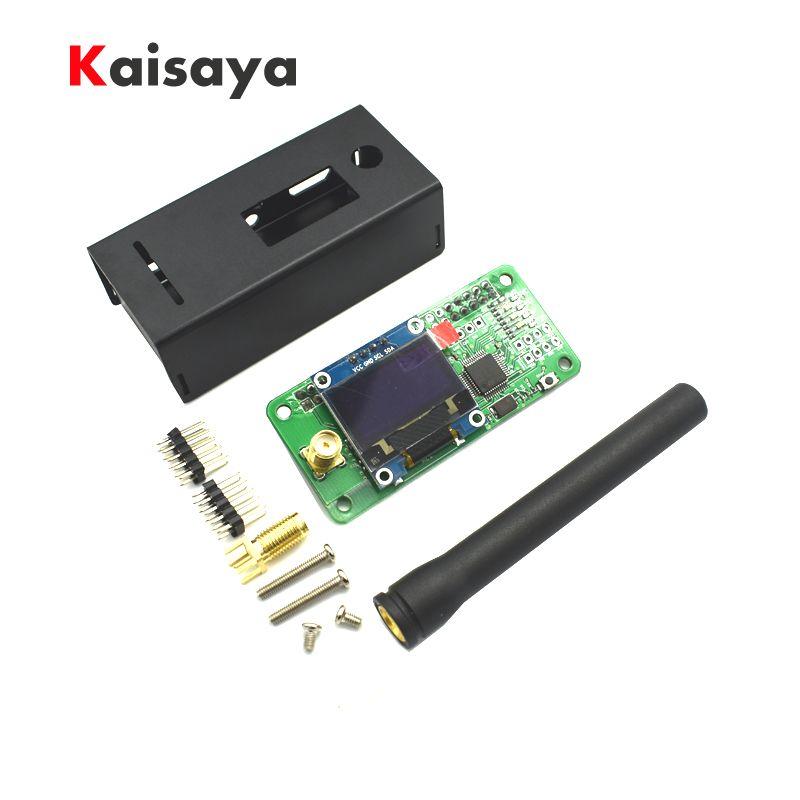 UHF VHF MMDVM hotspot OLED+ Antenna+ Case Support P25 DMR YSF for Raspberry pi A10-001