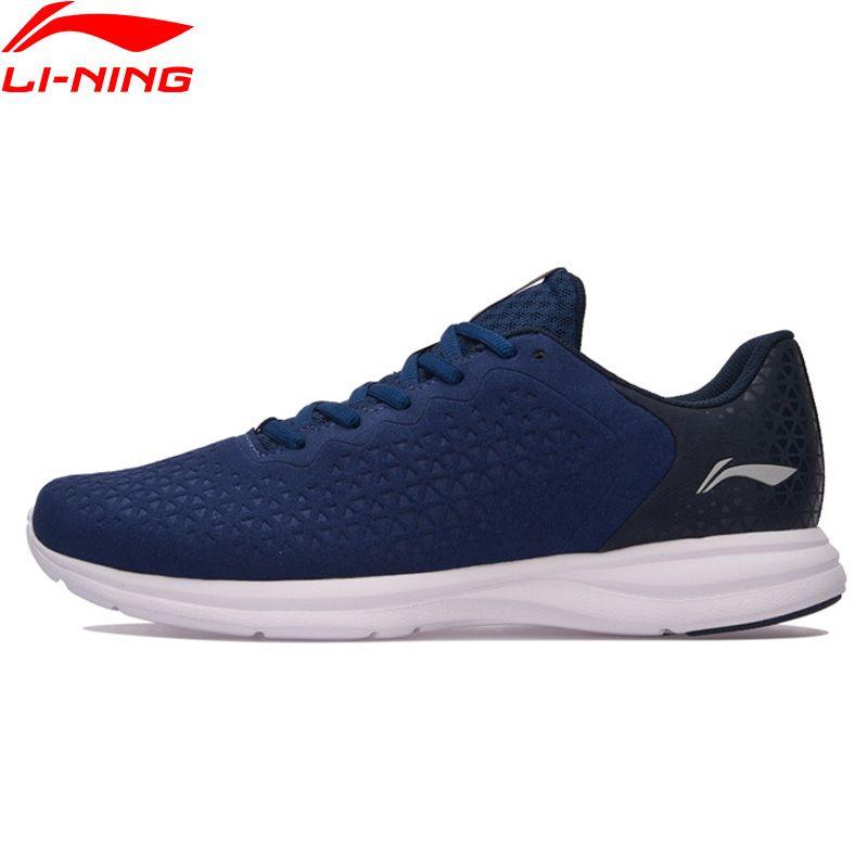 Li Ning Männer Laufschuhe EZ RUN Anti Rutschigen Sportschuhe Licht Futter Atmungsaktiv Turnschuhe ARBM053 XYP586