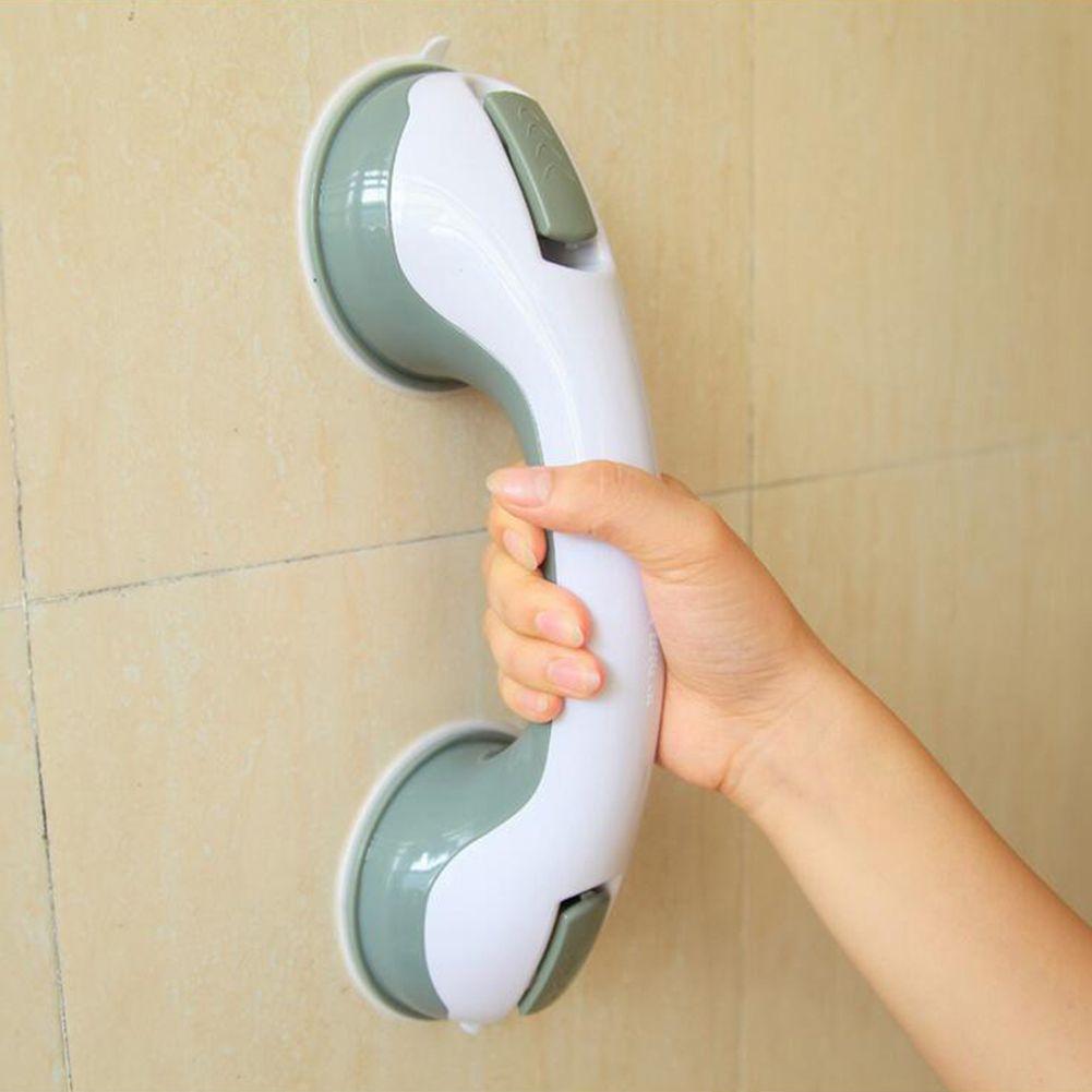 Bathroom Suction Cup Handle Grab Bar for elderly Safety Bath Shower Tub Bathroom Shower Grab Non-slip Handle Rail Grip