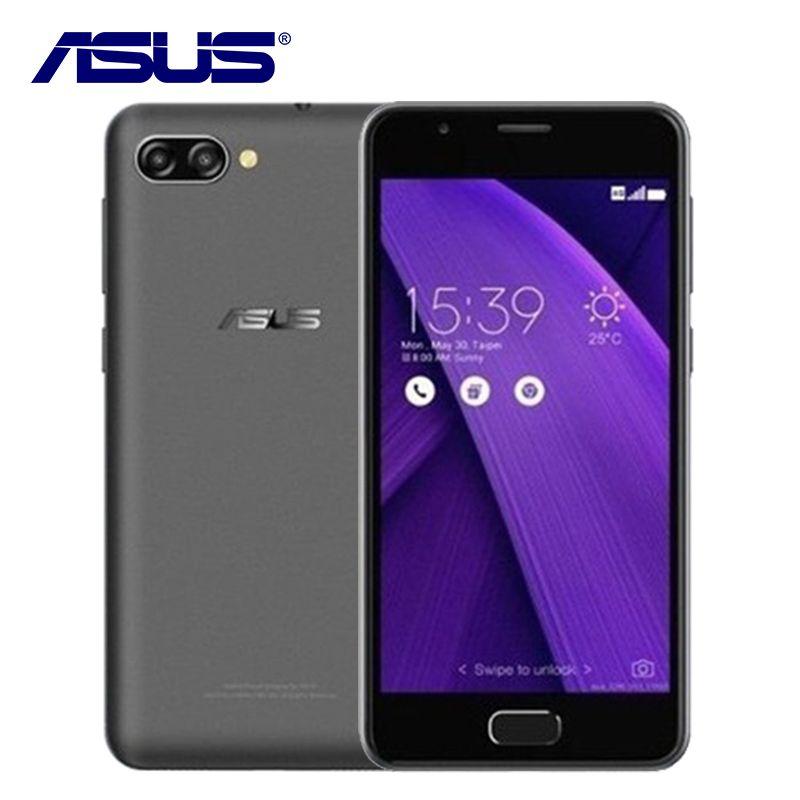 2017 NUEVA ASUS ZenFone 4 Max 4A ZB500TL Pegasus 3 GB RAM 32 GB ROM Quad Core 5 pulgadas Android 7.0 4100 mAh 4G LTE 13MP Móvil teléfono