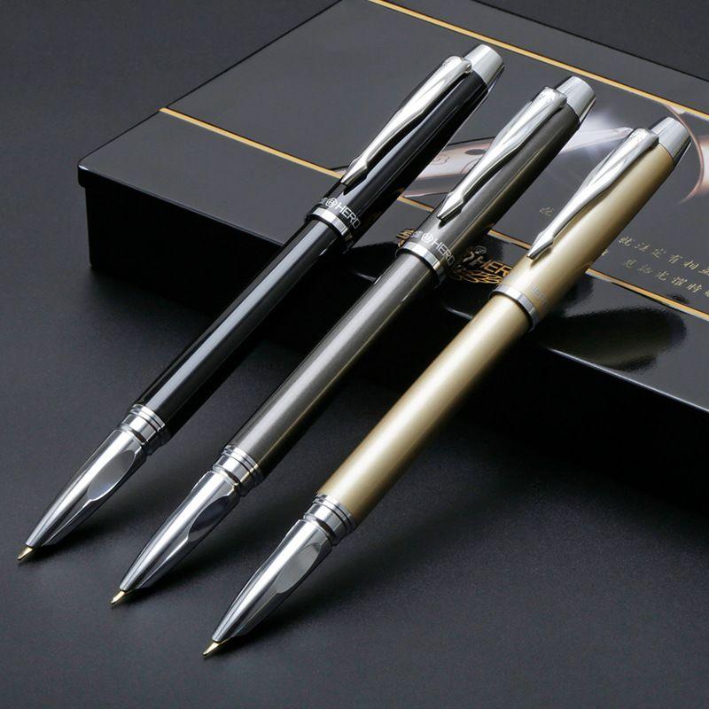 Hohe Qualität Brunnen stift tinte stift nib 0,5 0,8mm Iraurita Volle metall luxus Caneta tinteiro Schreibwaren Stylo plume 03856