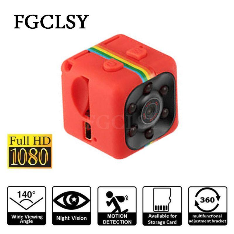 Mini Caméra SQ11 1080 p Capteur Infrarouge de Vision Nocturne Caméscope Micro Caméra vidéo DVR DV Enregistreur De Mouvement Caméscope petite Caméra